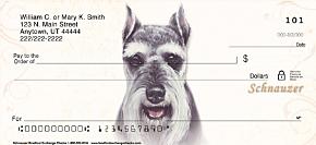 Schnauzer Personal Checks
