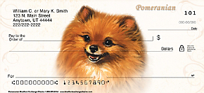 Pomeranian Personal Checks