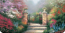 Thomas Kinkade's Heaven On Earth Checkbook Cover