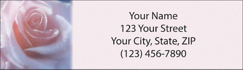 Rose Petal Blessings Booklet of 150 Address Labels
