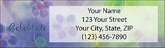 Celebrate Life Return Address Label