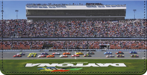 NASCAR Racetracks Checkbook Cover