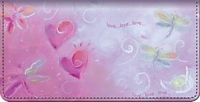 Love Bugs Checkbook Cover