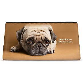 Faithful Friends - Pug Cosmetic Bag