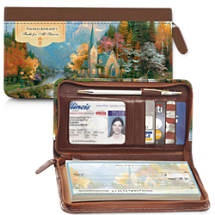 Kinkade's Faith for All Seasons Wallet