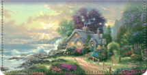 Thomas Kinkade's Seasons of Reflection Checkbook Cover