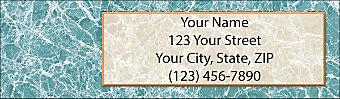 Venetian Return Address Label