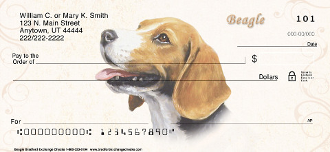 Beagle Personal Checks