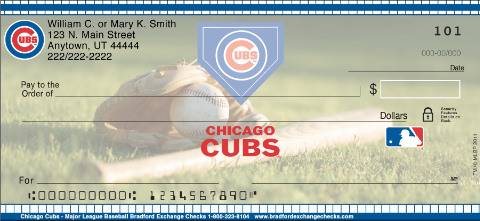 Chicago Cubs(TM) MLB(R) Personal Checks
