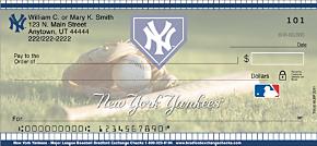 New York Yankees(TM) MLB(R) Personal Checks