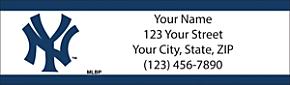 New York Yankees(TM) MLB(R) Return Address Label