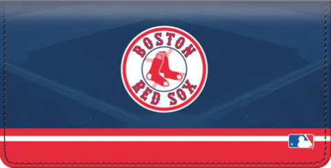 Boston Red Sox Logo Checkbook Cover