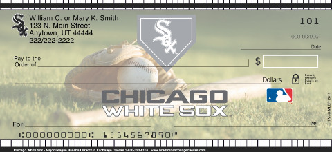 Chicago White Sox(TM) MLB(R) Personal Checks