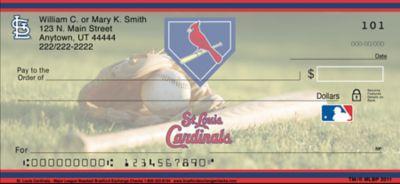 St Louis Cardinals(TM) MLB(R) Personal Checks