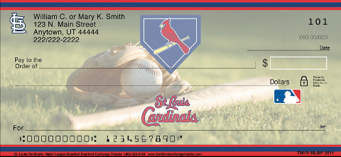 St Louis Cardinals(TM) MLB(R) Personal Checks