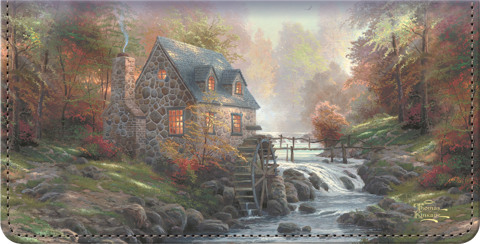 Thomas Kinkade's Country Escapes Checkbook Cover