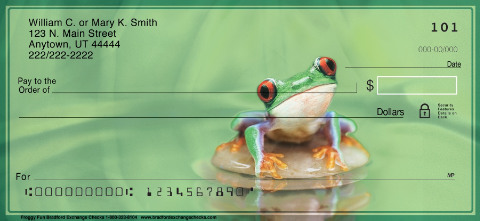 Froggy Fun Personal Checks