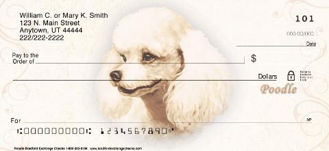 Poodle Personal Checks