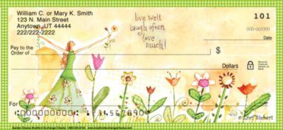 Garden Graces Personal Checks
