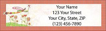Garden Graces Return Address Label