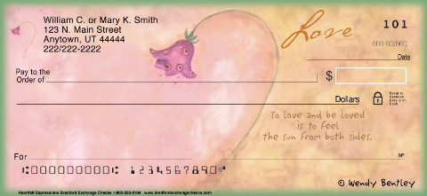 Heartfelt Expressions Personal Checks