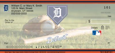 Detroit Tigers(TM) MLB(R) Personal Checks