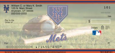 New York Mets(TM) MLB(R) Personal Checks