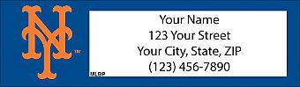 New York Mets™ MLB® Return Address Label