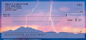 Lightning Strikes Personal Checks