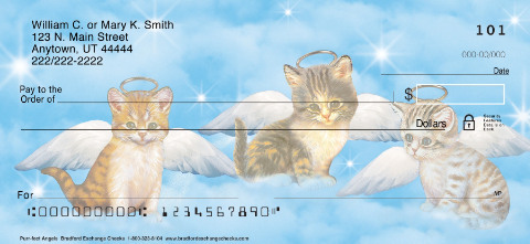 Purr-fect Angels Personal Checks
