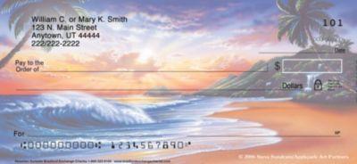 Hawaiian Sunsets Personal Checks
