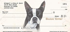 Boston Terrier Personal Checks