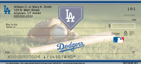 Los Angeles Dodgers(TM) MLB(R) Personal Checks