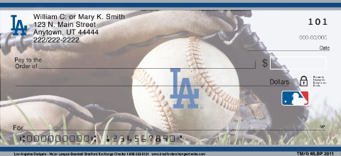 Los Angeles Dodgers - Personal Checks