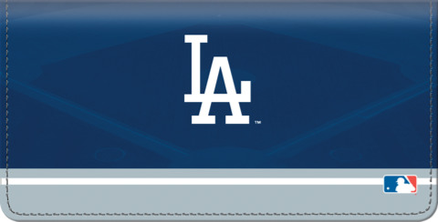 Los Angeles Dodgers Logo Checkbook Cover