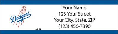Los Angeles Dodgers(TM) MLB(R) Return Address Label