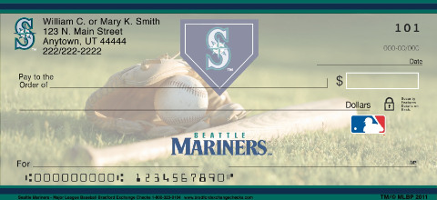 Seattle Mariners(TM) MLB(R) Personal Checks