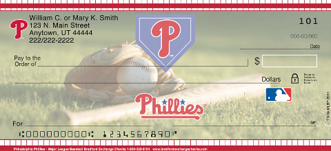 Philadelphia Phillies(TM) MLB(R) Personal Checks