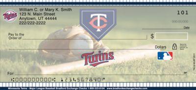 Minnesota Twins(TM) MLB(R) Personal Checks