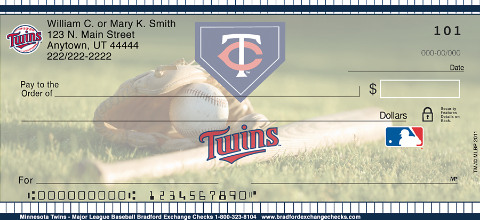 Minnesota Twins(TM) MLB(R) Personal Checks
