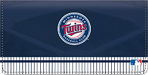 Minnesota Twins(TM) MLB(R) Checkbook Cover