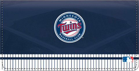 Minnesota Twins(TM) MLB(R) Checkbook Cover