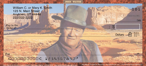John Wayne Horse Checks