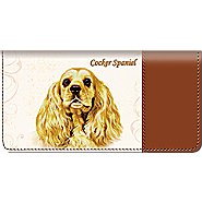 Bradford Exchange Checks Cocker Spaniel Checkbook Cover at Sears.com