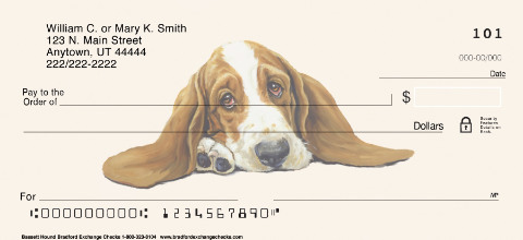 Basset Hound Portrait Paintings