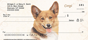 Corgi Personal Checks