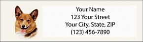Corgi Return Address Label