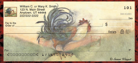 Le Rooster Personal Checks