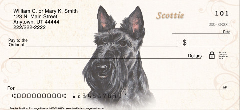 Scottie Portrait Paintings