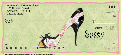 """Whimsy Luxuries"" Personal Check Designs"